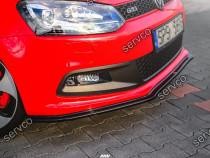 Prelungire splitter bara fata VW Polo Mk5 GTI 6R 09-14 v7