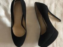 Pantofi cu toc Nine West piele naturala
