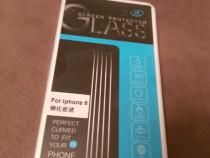 Glass protect de sticlă iphone 8 sunt 2 bucati