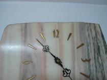 Ceas de perete vintage, din marmura cu mecanism Elstar