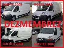 Dezmembrez Fiat Ducato -Boxer-Jumper 2007-2011