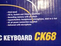 CK68, Franta, orga electronica noua, la cutie, accesorii, co