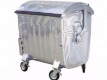 Container Galvanizat 1100 litri Bonnet, Tomberoane Metal