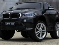 Masina electrica BMW X6M 2x 35W 12V, Music player #Negru