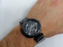 Ceas Versace, nou, culoare negru, impachetat in cuti
