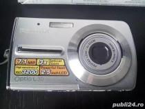 Aparat foto PENTAX Optio L30 (defect), incarcator, cabluri