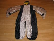 Costum carnaval serbare pasare cioara pinguin pentru adulti