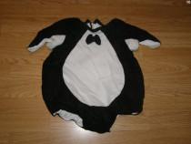 Costum carnaval serbare animal pinguin 1-2 ani