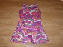 Costum carnaval serbare rochie dans disco 9-10 ani