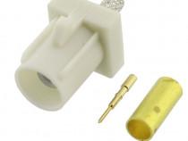 Conector Fakra, tip B, tata, sertizare pe RG174 - 655339