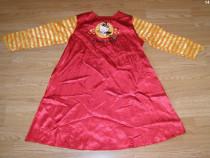 Costum carnaval serbare rochie hello kitty 8-9-10 ani