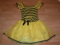 Costum carnaval serbare albina albinuta pentru adulti M