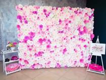 Panou foto corner paperflower wall flori hartie