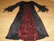Costum carnaval serbare rochie medievala vrajitoare adulti