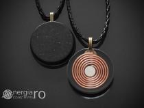 Pandantiv Orgonic, Orgon Magnetic cu Turmalina - cod ORG036