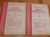 Gazeta matematica - 2 numere din anul 1989