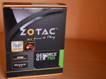 Placa video zotac geforce gtx 750, 2gb gddr5, 128-bit
