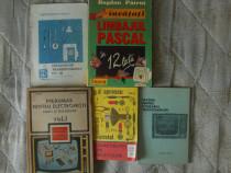 Carti vechi vintage electronica programare