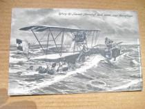 Ww1-Salvarea echipajului Foucault de catre pilotii avion imp