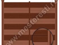 Gard wpc repyt – 1,84 metri, garduri din lemn wpc, -20% off