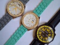 3 ceasuri fashion, stare excelenta, diametre mari
