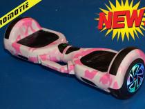 Hoverboard pinker 1000w nou cu garantie husa cadou