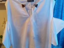Camasa bluza alba de dama United Colirs of Benetton