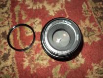 Obiectiv foto vivitar 50mm 1.9 montura pentax