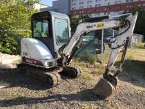 Închiriere miniexcavator excavator buldoexcavator Bobcat