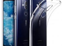 Nokia 4.2 / 5.1 Plus Husa Silicon Clara + Folie Sticla