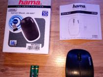 Mouse Optical HAMA Wireless 2,4 Ghz 1200 Dpi, NOU !