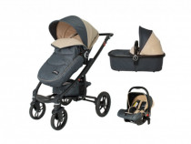 Carucior 3 in 1 DHS arrow Beige