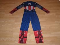 Costum carnaval serbare captain american 10-11-12 ani