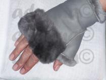 Manusi fara degete de dama- confectionate din piele naturala