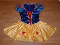 Costum carnaval serbare alba ca zapada pentru adulti S