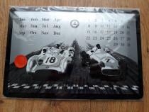 Calendar metalic Mercedes Benz - produs nou