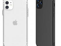 Iphone 11 11 pro 11 pro max - husa silicon neagra / clara