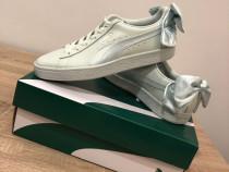Adidasi puma basket , noi , originali , mărimea 39