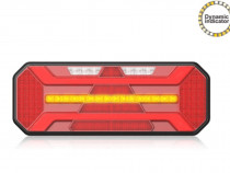 Lampa stop camion LED cu semnalizare dinamica SL04 12-24V