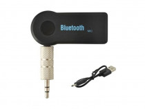 Adaptor Bluetooth Cu Jack 3.5MM, Car Bluetooth, Negru