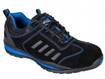 Pantofi protectie S1P Lusum negru cu albastru,diverse marimi