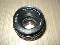 Obiectiv foto zenit helios 44M-4 , 58mm 1:2 ,stare perfecta
