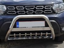 Bullbar dedicat Dacia Duster II dupa 2018->, bulbar duster