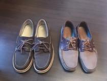 Pantofi din piele întoarsă