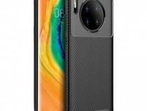 Husa telefon silicon huawei mate 30 carbon black produs nou