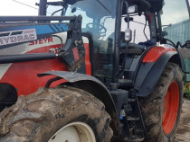 Tractor Steyr 6125 cu incarcator frontal