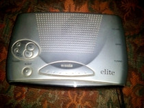 Radio vintage cu ceas desteptator Elite