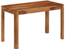 Masă de bucătărie, lemn masiv de 246256