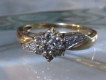 Inel Aur 14K Cu Diamante Ca. 0,4 Carat Ptr Dama