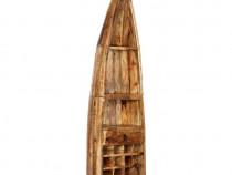Dulap de vinuri, 50 x 40 x 180 cm, lemn masiv 247877